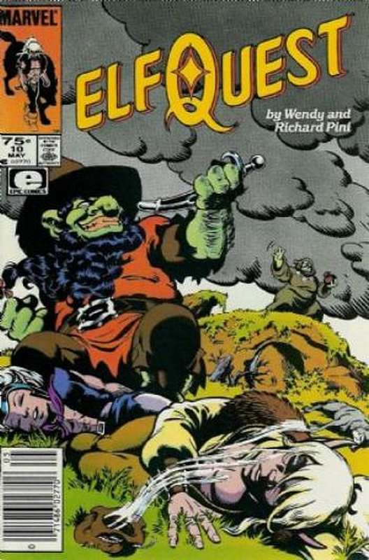 Cover of Elfquest (Epic) #10. One of 250,000 Vintage American Comics on sale from Krypton!
