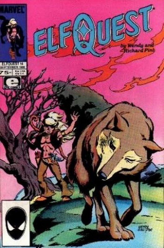 Cover of Elfquest (Epic) #14. One of 250,000 Vintage American Comics on sale from Krypton!