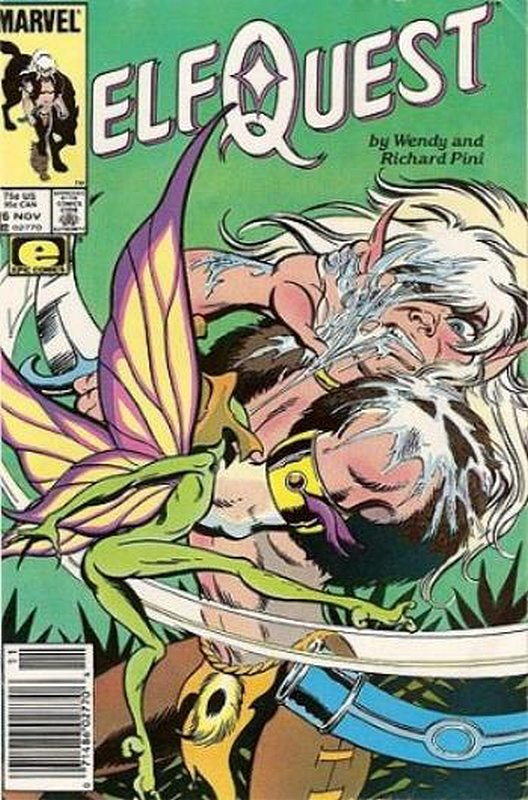 Cover of Elfquest (Epic) #16. One of 250,000 Vintage American Comics on sale from Krypton!