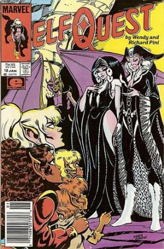 Cover of Elfquest (Epic) #18. One of 250,000 Vintage American Comics on sale from Krypton!