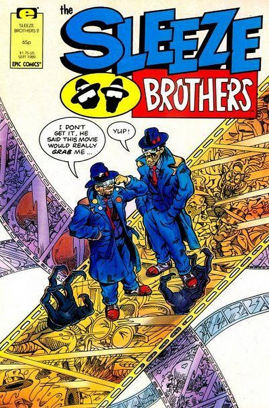 Cover of Sleeze Brothers #2. One of 250,000 Vintage American Comics on sale from Krypton!