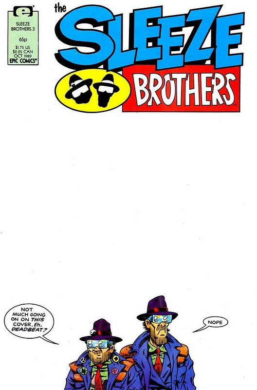 Cover of Sleeze Brothers #3. One of 250,000 Vintage American Comics on sale from Krypton!