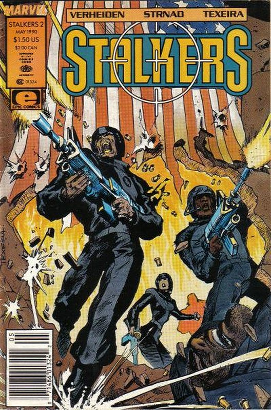 Cover of Stalkers (Vol 1) #2. One of 250,000 Vintage American Comics on sale from Krypton!