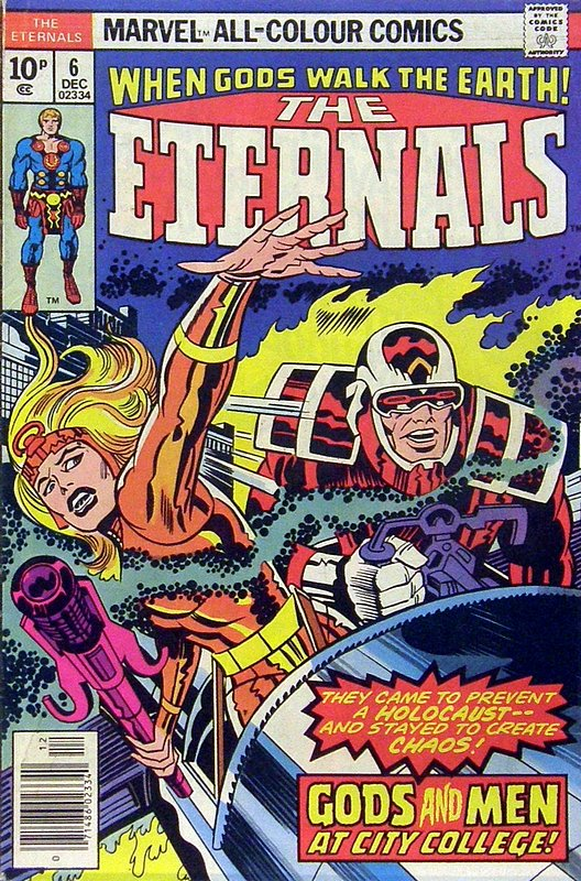 Cover of Eternals (Vol 1) #6. One of 250,000 Vintage American Comics on sale from Krypton!