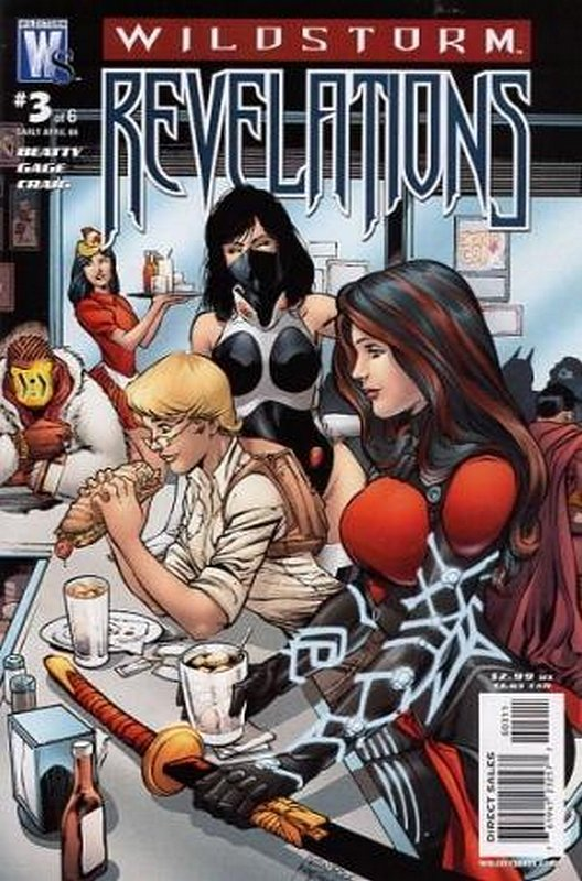 Cover of Wildstorm Revelations (2008 Ltd) #3. One of 250,000 Vintage American Comics on sale from Krypton!