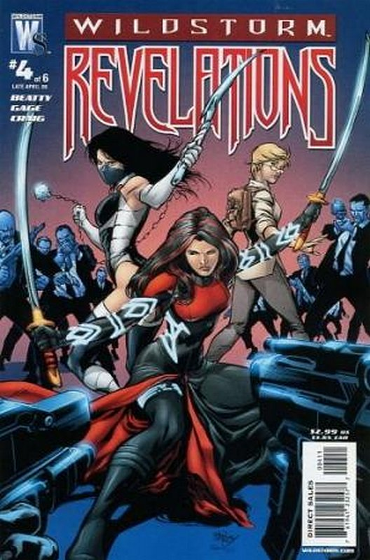 Cover of Wildstorm Revelations (2008 Ltd) #4. One of 250,000 Vintage American Comics on sale from Krypton!