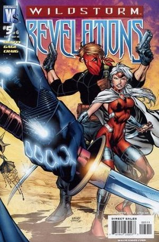 Cover of Wildstorm Revelations (2008 Ltd) #5. One of 250,000 Vintage American Comics on sale from Krypton!