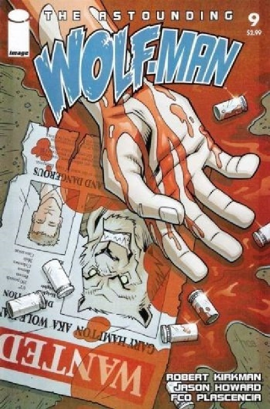 Cover of Astounding Wolf-Man (Vol 1) #9. One of 250,000 Vintage American Comics on sale from Krypton!