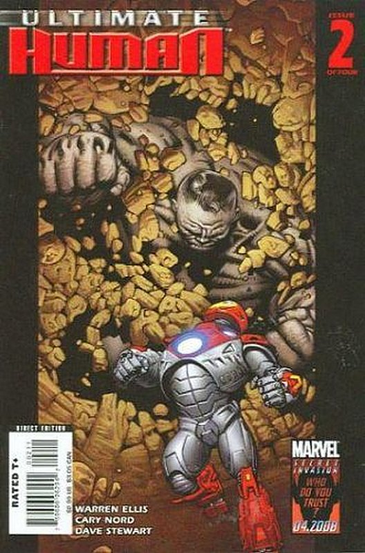Cover of Ultimate Human (2008 Ltd) #2. One of 250,000 Vintage American Comics on sale from Krypton!