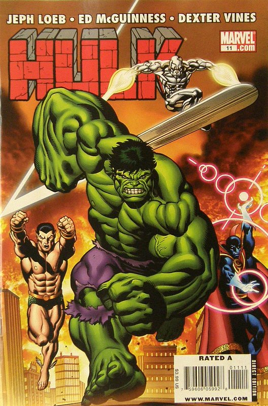 Cover of Hulk (Red) #11. One of 250,000 Vintage American Comics on sale from Krypton!