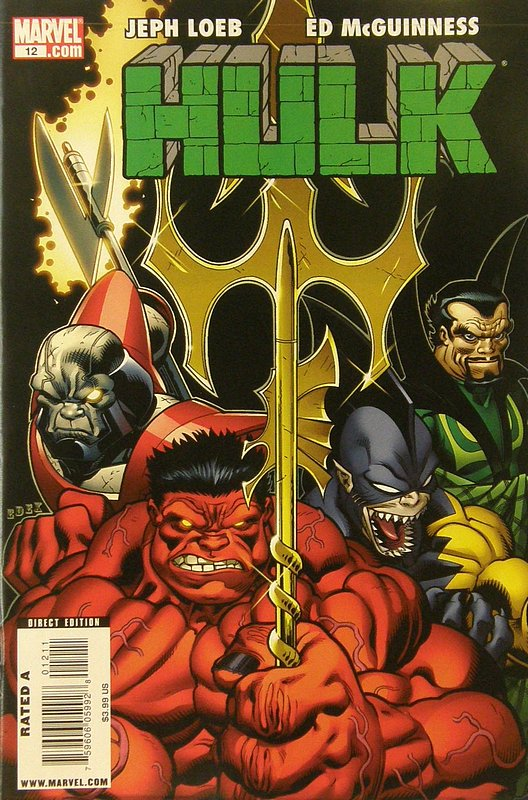 Cover of Hulk (Red) #12. One of 250,000 Vintage American Comics on sale from Krypton!