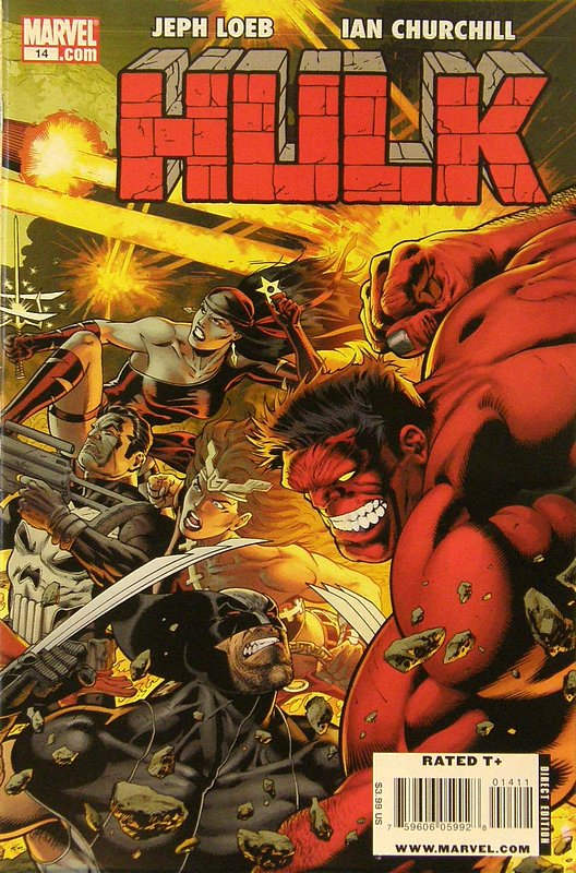 Cover of Hulk (Red) #14. One of 250,000 Vintage American Comics on sale from Krypton!