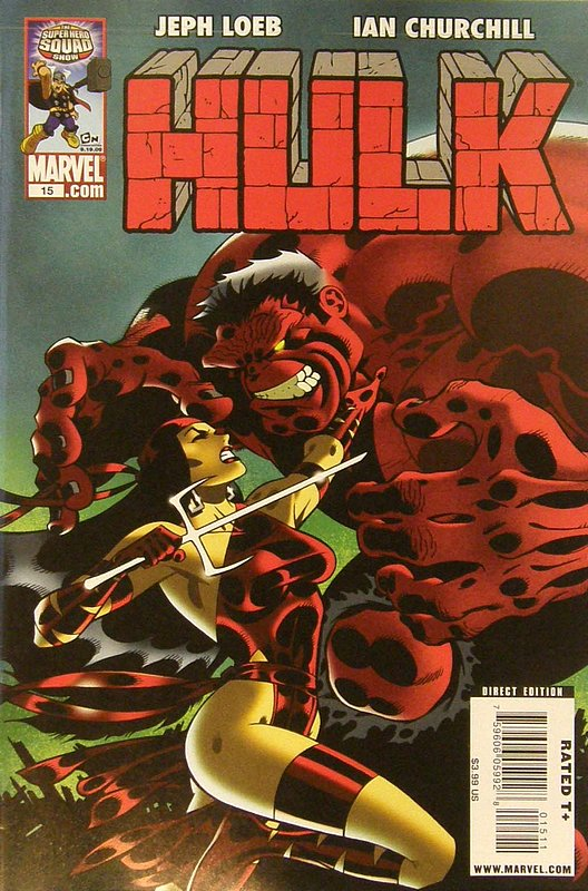 Cover of Hulk (Red) #15. One of 250,000 Vintage American Comics on sale from Krypton!