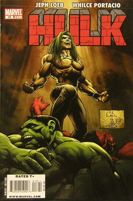 Cover of Hulk (Red) #18. One of 250,000 Vintage American Comics on sale from Krypton!
