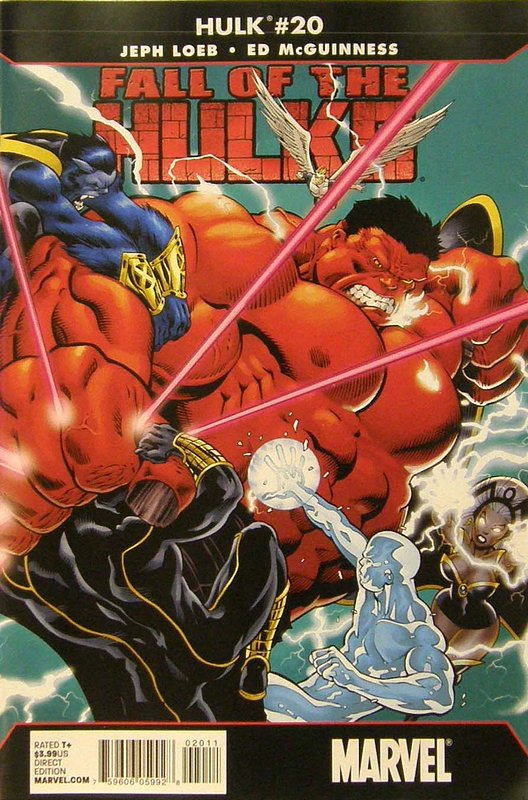 Cover of Hulk (Red) #20. One of 250,000 Vintage American Comics on sale from Krypton!