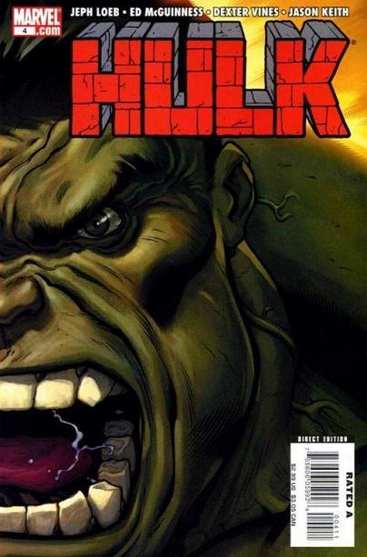 Cover of Hulk (Red) #4. One of 250,000 Vintage American Comics on sale from Krypton!