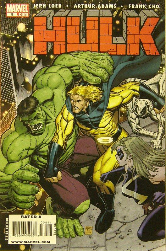 Cover of Hulk (Red) #8. One of 250,000 Vintage American Comics on sale from Krypton!