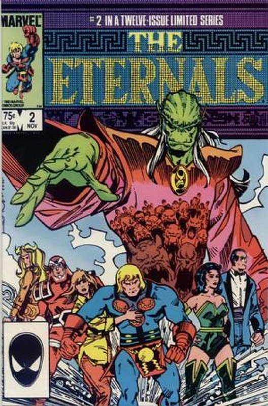 Cover of Eternals (1985-86 Ltd) #2. One of 250,000 Vintage American Comics on sale from Krypton!