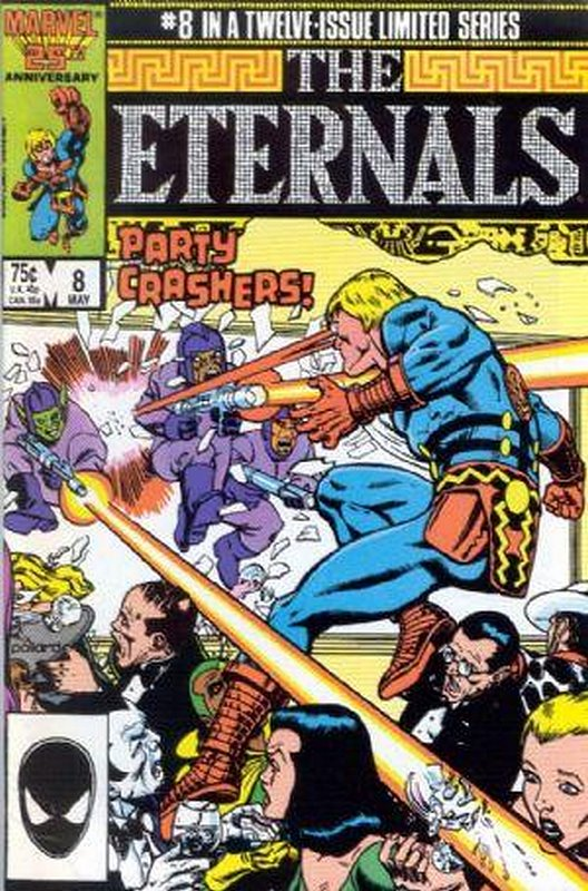Cover of Eternals (1985-86 Ltd) #8. One of 250,000 Vintage American Comics on sale from Krypton!