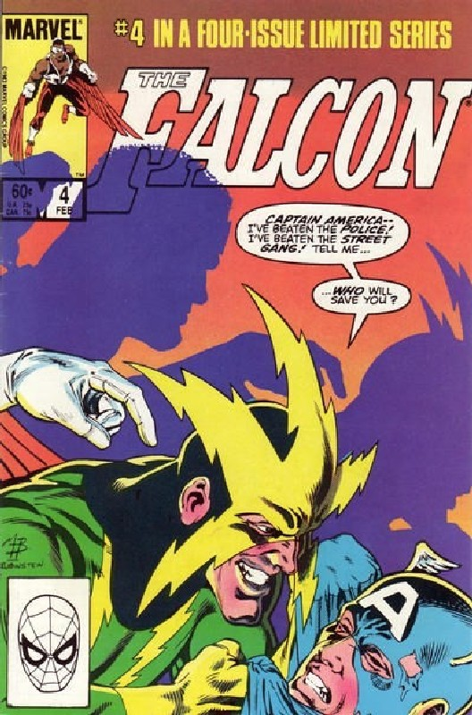 Cover of Falcon (1983 Ltd) #4. One of 250,000 Vintage American Comics on sale from Krypton!