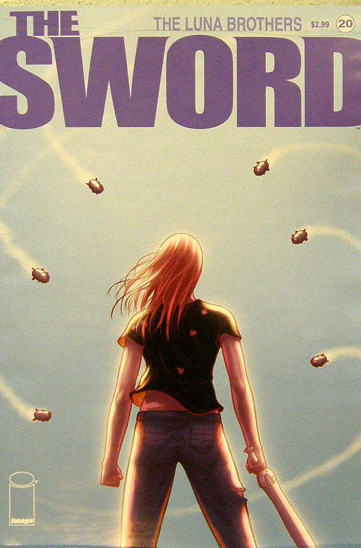 Cover of Sword, (Vol 1) The #20. One of 250,000 Vintage American Comics on sale from Krypton!