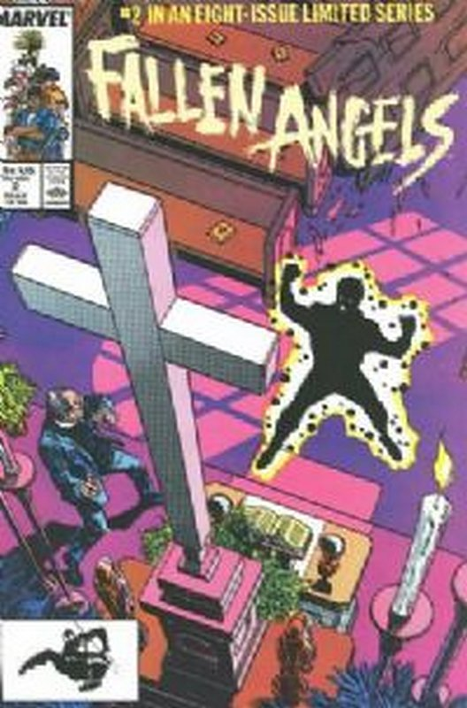 Cover of Fallen Angels (1987 Ltd) #2. One of 250,000 Vintage American Comics on sale from Krypton!