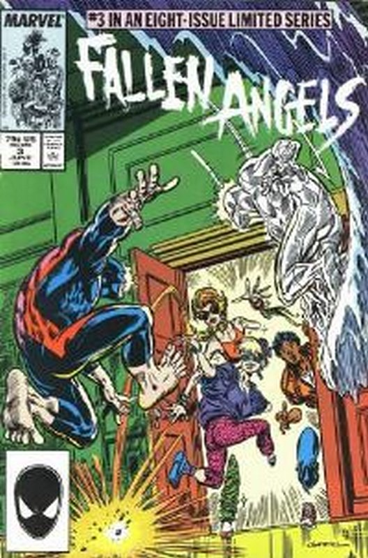 Cover of Fallen Angels (1987 Ltd) #3. One of 250,000 Vintage American Comics on sale from Krypton!