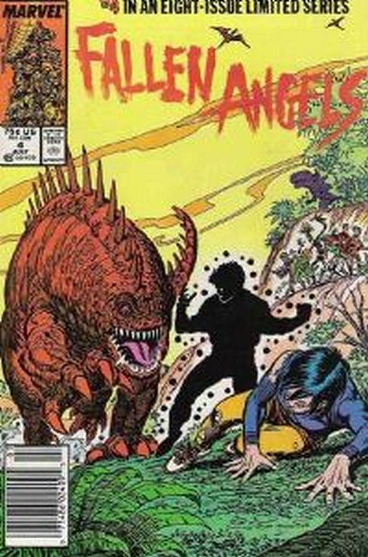 Cover of Fallen Angels (1987 Ltd) #4. One of 250,000 Vintage American Comics on sale from Krypton!