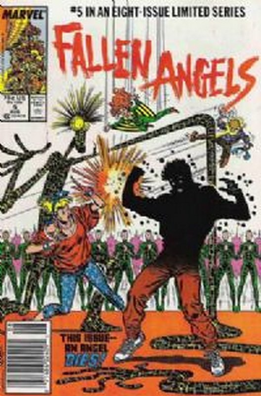 Cover of Fallen Angels (1987 Ltd) #5. One of 250,000 Vintage American Comics on sale from Krypton!