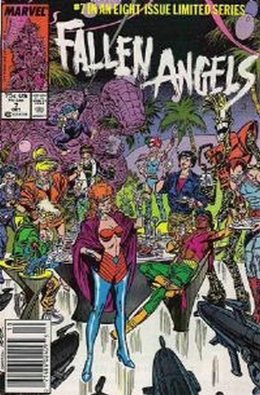 Cover of Fallen Angels (1987 Ltd) #7. One of 250,000 Vintage American Comics on sale from Krypton!