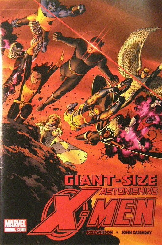 Cover of Astonishing X-Men - Giant Sized #1. One of 250,000 Vintage American Comics on sale from Krypton!