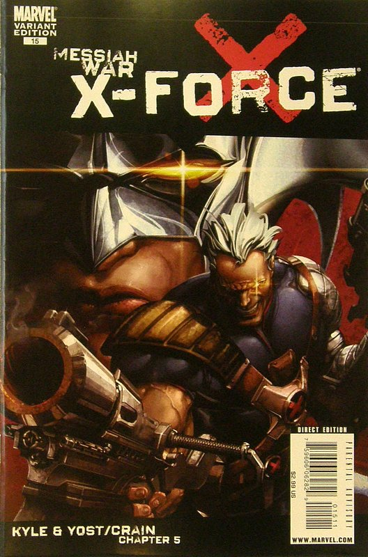 Cover of X-Force (Vol 3) #15. One of 250,000 Vintage American Comics on sale from Krypton!