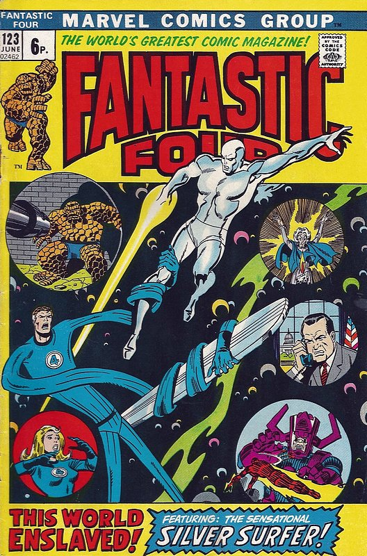 Cover of Fantastic Four (Vol 1) #123. One of 250,000 Vintage American Comics on sale from Krypton!