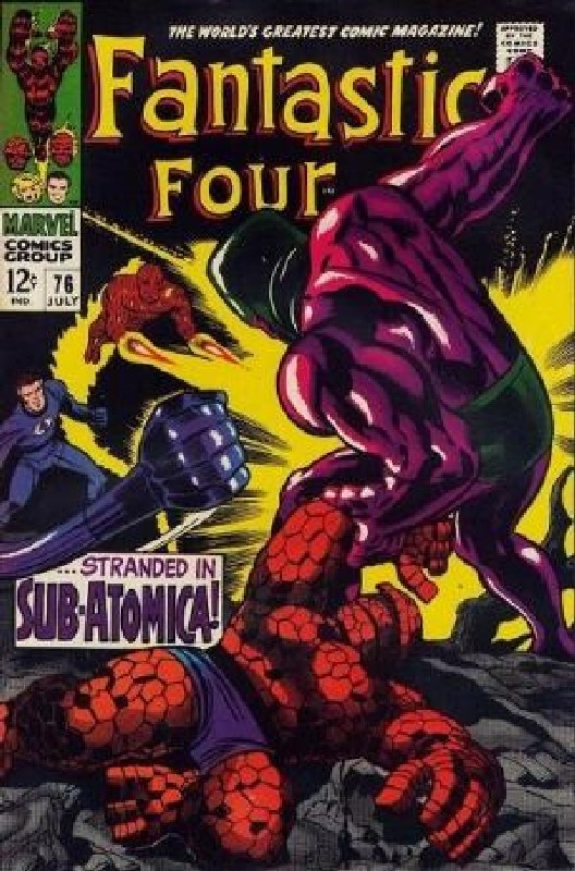 Cover of Fantastic Four (Vol 1) #76. One of 250,000 Vintage American Comics on sale from Krypton!