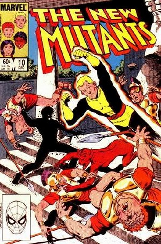 Cover of New Mutants (Vol 1) #10. One of 250,000 Vintage American Comics on sale from Krypton!