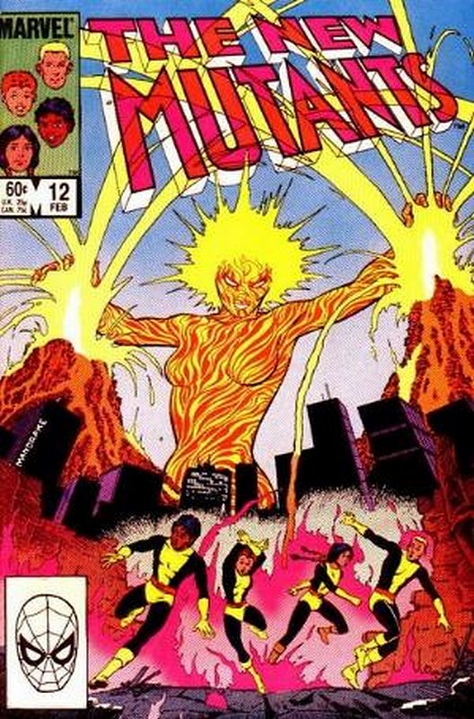 Cover of New Mutants (Vol 1) #12. One of 250,000 Vintage American Comics on sale from Krypton!