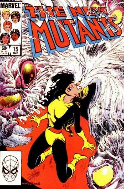Cover of New Mutants (Vol 1) #15. One of 250,000 Vintage American Comics on sale from Krypton!