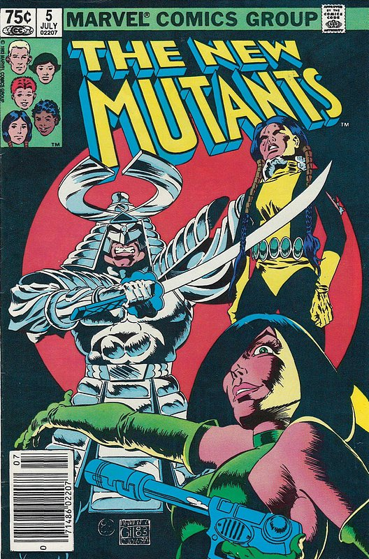 Cover of New Mutants (Vol 1) #5. One of 250,000 Vintage American Comics on sale from Krypton!