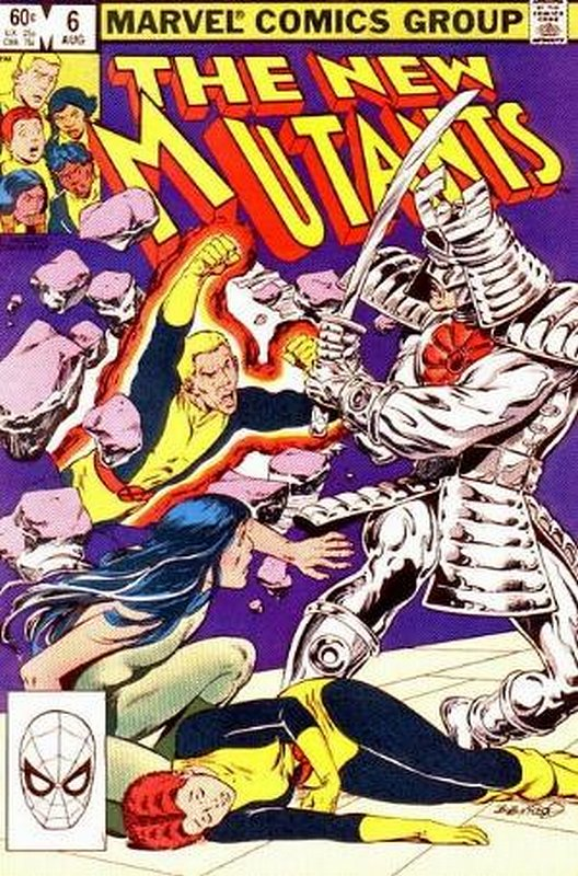 Cover of New Mutants (Vol 1) #6. One of 250,000 Vintage American Comics on sale from Krypton!