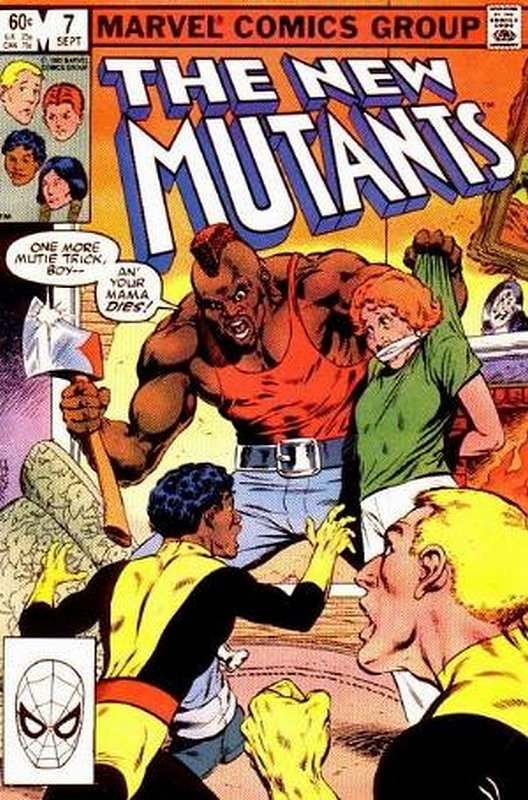Cover of New Mutants (Vol 1) #7. One of 250,000 Vintage American Comics on sale from Krypton!