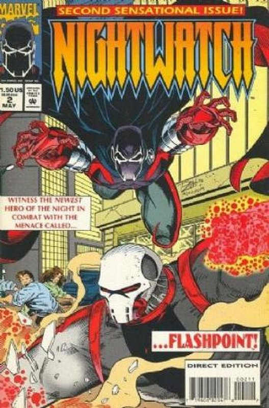 Cover of Nightwatch (Vol 1) #2. One of 250,000 Vintage American Comics on sale from Krypton!