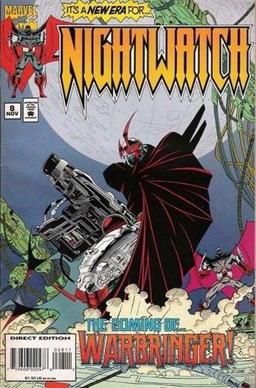Cover of Nightwatch (Vol 1) #8. One of 250,000 Vintage American Comics on sale from Krypton!