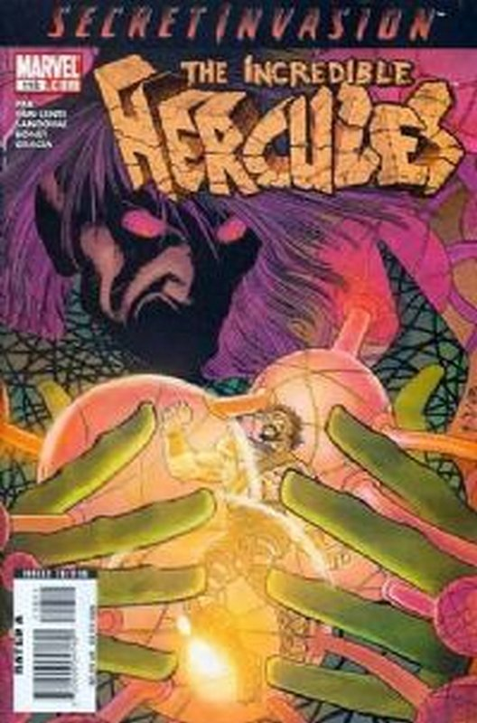 Cover of Incredible Hercules #118. One of 250,000 Vintage American Comics on sale from Krypton!
