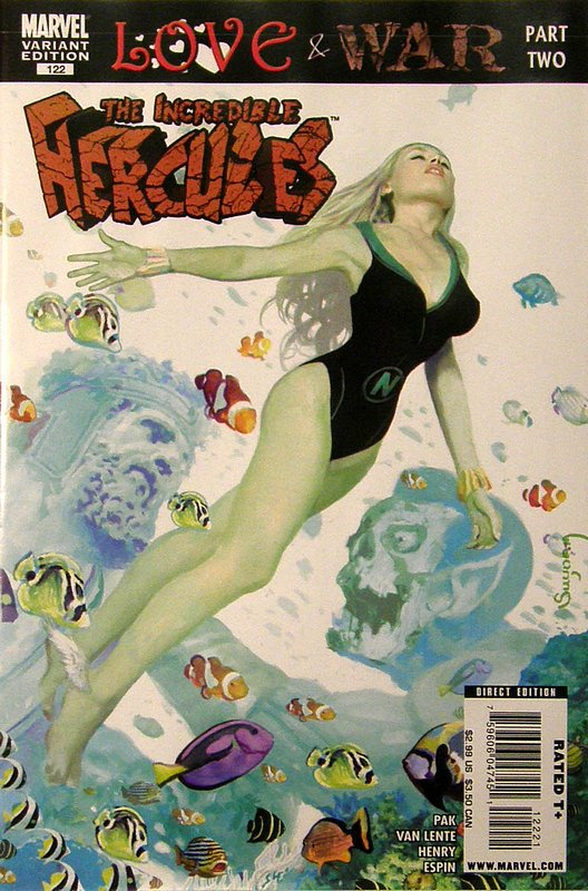 Cover of Incredible Hercules #122. One of 250,000 Vintage American Comics on sale from Krypton!