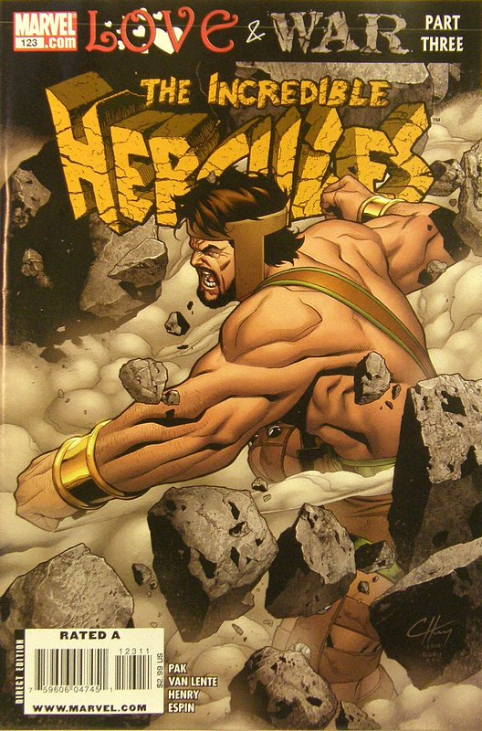 Cover of Incredible Hercules #123. One of 250,000 Vintage American Comics on sale from Krypton!