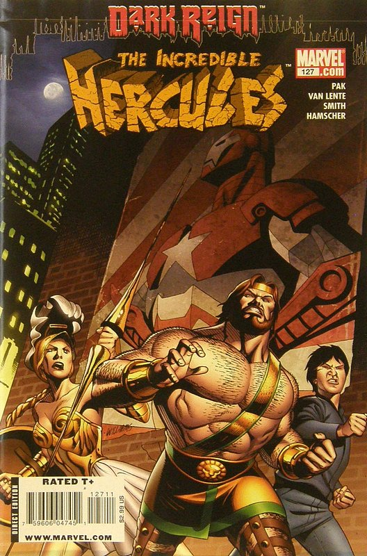 Cover of Incredible Hercules #127. One of 250,000 Vintage American Comics on sale from Krypton!