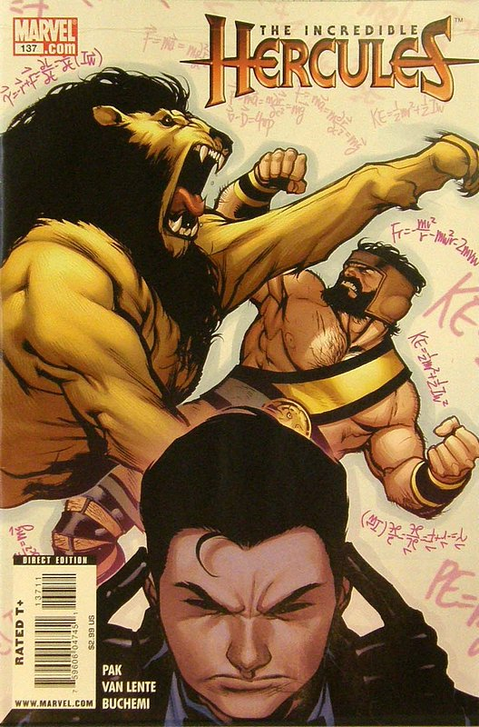 Cover of Incredible Hercules #137. One of 250,000 Vintage American Comics on sale from Krypton!