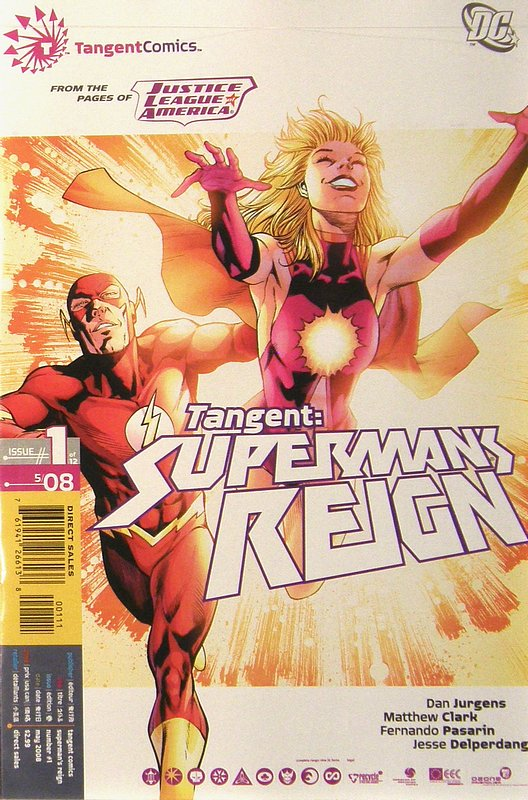 Cover of Tangent: Supermans Reign (2008 Ltd) #1. One of 250,000 Vintage American Comics on sale from Krypton!