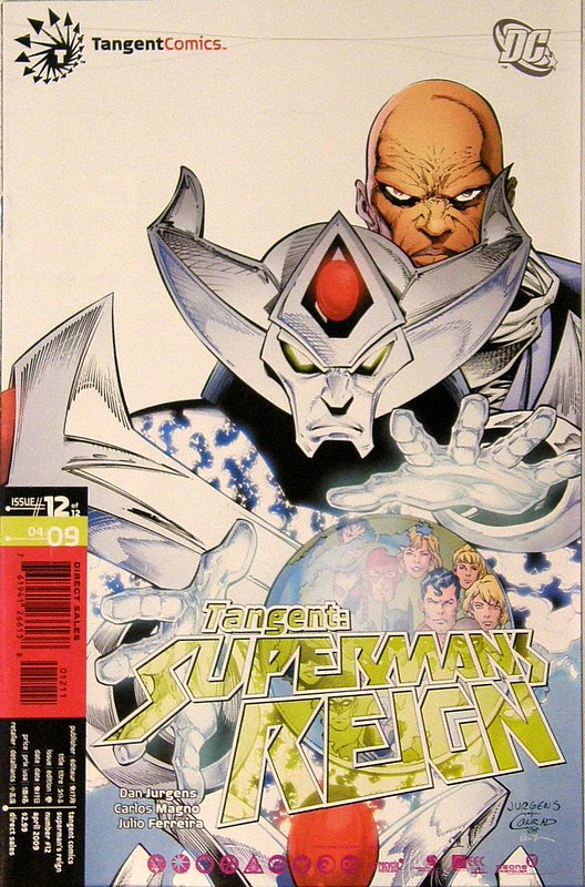 Cover of Tangent: Supermans Reign (2008 Ltd) #12. One of 250,000 Vintage American Comics on sale from Krypton!