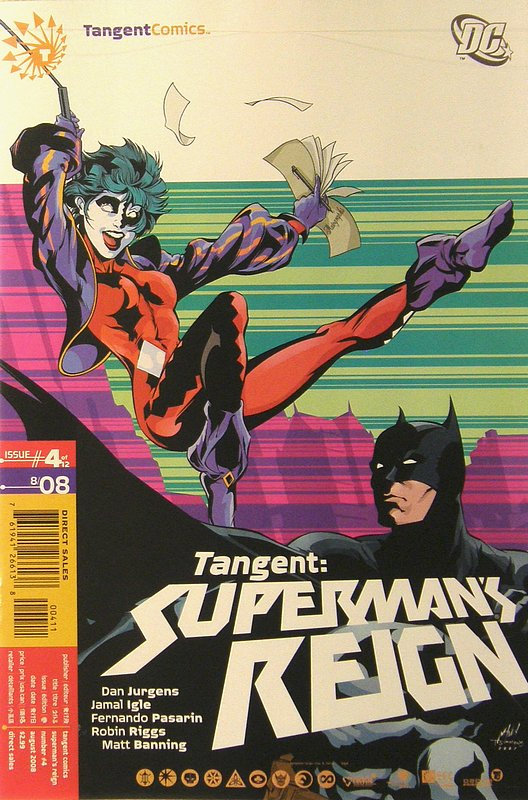 Cover of Tangent: Supermans Reign (2008 Ltd) #4. One of 250,000 Vintage American Comics on sale from Krypton!